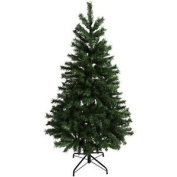 1.8m Green Artificial Christmas Xmas Tree Metal Stand 600 Tips Decoration New