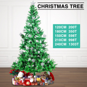 5 Sizes Artificial Christmas Tree Green Xmas Decorations W/ Metal Stand