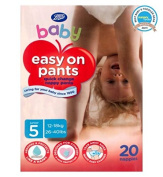 boots baby easy on potty training pants size 5 junior 1x20