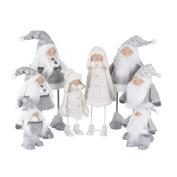 Novelty Standing Wobble Dancing Figures Gonk Dolls Christmas Xmas Man/girl/doll