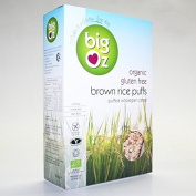 Big Oz | Organic Brown Rice Puffs | 1 x 225g