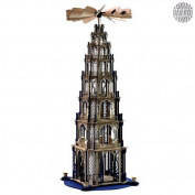 Damasu Bs_pyg7bn Christmas Pyramid Kit For Self-assembly 7-tier [ German ]