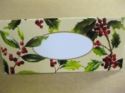 10 X Holly Berry Place Cards Green Christmas Holiday Xmas New Year Settings