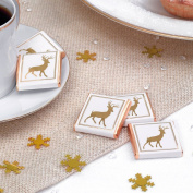Winter Wonderland Luxury Christmas Chocolates. 20 Squares