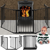 Heavy Fire Guard Child Safety Oven Baby Protection Grating Fireplace Fireguard