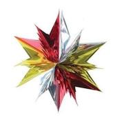 45cm Foil Star Hanging Decoration