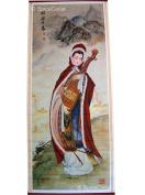 Chinese Wall Hanging Scroll - Wang Zhaojun - 75cm X 32cm
