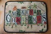 . - Musical Christmas Door Mat With Led Lights