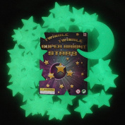 Twinkle Twinkle Super Bright Stars - The Ultimate Glow-in-the-da