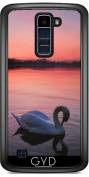 Case for LG K8 2017 - Swan on the lake by Gatterwe
