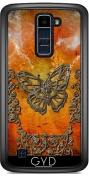 Case for LG K8 2017 - Decorative butterflies by nicky2342