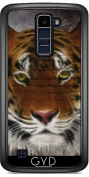 Case for LG K8 2017 - Abstract Tiger by Gatterwe