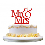 IGEMY New Wedding Cake Topper Insert Card Love Groom And Bride Acrylic Cake Decoration