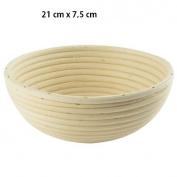 Proving Basket Bread Dough Proofing Basket Gärkörbe Bread Basket Wicker Round 1.2 kg SC184