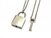 necklace 50 cm ren padlock with key rockstar Cosplay Pidak shop