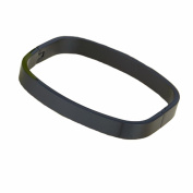 Baoli Black Titanium Square Plain Blank Women and Men's Bangle Bracelet