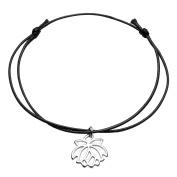 JOVIVI Punk Bangle Black Braided Rope Tree of Life/Heart/Chakra Pendant Anklet Bracelet Adjustable