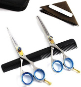 Blue Avocado Professional Hairdressing Scissors Set- 5.5""