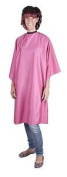 Professional Pink Sleeveless Hairdressing Gown - Water-repellen