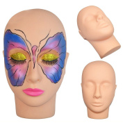 Beautystar Make Up Head Flat Practise Training Head Manikin Cosmetology