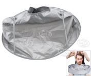 Waterproof Adult Hair Cutting Fold Umbrella Cape Salon Barber Hairdressing