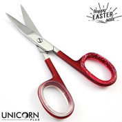 Unicorn Plus Scissors - Extra Strong Slightly Curved Nail Scissors - Manicure
