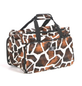 Urbanity Large Professional Hairdressing Hair Stylist Soft Beauty Bag Giraffe. B