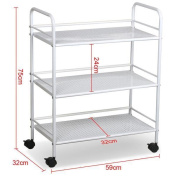 New 3 Shelf Large Salon Beauty Trolley Cart Spa Storage Dentist Wax Treatments