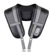 Amzdeal Massager Shiatsu For Neck And Back Shoulders, Peripheral Belt Infrared