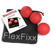 Flexfixx Double Lacrosse Peanut And Massage Ball For Back And Neck Pain- Best