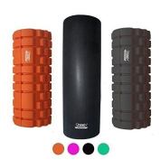 Protone foam roller with trigger massage point zones for deep massage rehab / physiotherapy