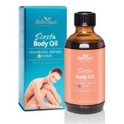 Belle Azul Siesta Body Oil - Firming, Toning & Moisturising Bath, Body And