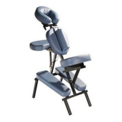 Aluminium Portable Massage Chair From Therapy In Motion In Blue One Size