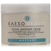 Kaeso Beauty Facial Massage Cream Vitamin E And Cotton