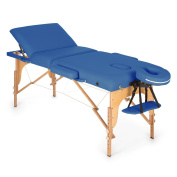 Low Weight Massage Bed Table Folding Carry Bag Comfort Tiltable Tatoo Couch Blue
