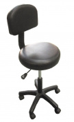 Gas Stool Massage Beauty Therapy Tatoo Height Adjustable Black Chair Wheeled New