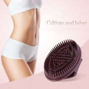 Trendy Handheld Anti Cellulite Full Body Massage Brush Slimming Beauty Su