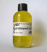 100ml Grapeseed Oil - Baby Safe Massage Oil Nut Free Oil Aromatherapy Massage