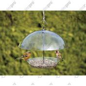 Wild Bird Feeder - Dome - Clear, Adjustable, Dry - Multi Deals. Kingfisher