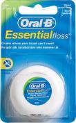 Oral B Floss Essential Mint Waxed Mint Dental 50m Wax .