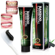 Activated Charcoal Teeth Whitening Toothpaste,bla
