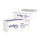 Smiles Teeth Brightening Whitening Powder 40g Mint Flavour 6 Months Supply