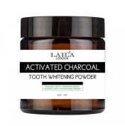 Unique Activated Charcoal Tooth Whitening Powder 60ml Made In Uk New Brand......