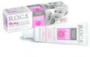 Toothpaste R.o.c.s. Pro Baby For The Little Ones / Rocs For Oral Care Of Small