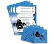 Pirate Tooth Fairy Set ~ 8 Envelopes & 4 Certificates 8 Envelopes & 4