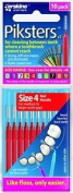 Piksters Size 4 10 Pack Box 100 Brushes