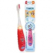 B-brite Club Cutie Flashing Timer Manual Toothbrush For Kids