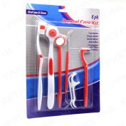 8pc Dental Care Kit Tooth Brush/tongue/p