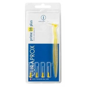 Curaprox Prime Cps 09 Plus Interdental Brush - Yellow - 5 Brush With 1 Holder
