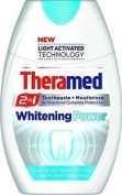 Six Packs Of Theramed 2in1 Toothpaste & Mouthwash Whitening Power 75ml